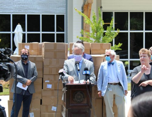 250,000 KN95 masks donated for frontline workers and first responders CHARLESTON COUNTY
