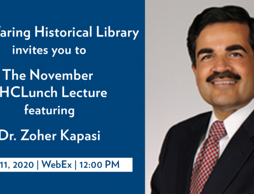 November's SHC Lunch Lecture -Dr. Zoher Kapasi