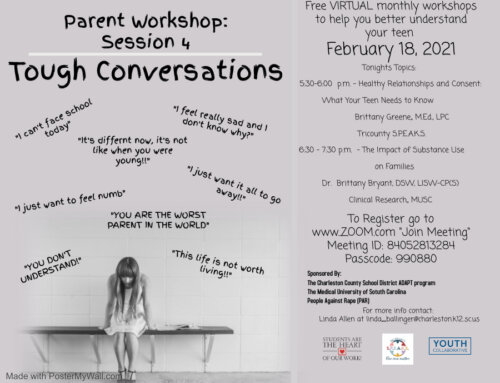 Parent workshop – Session 4