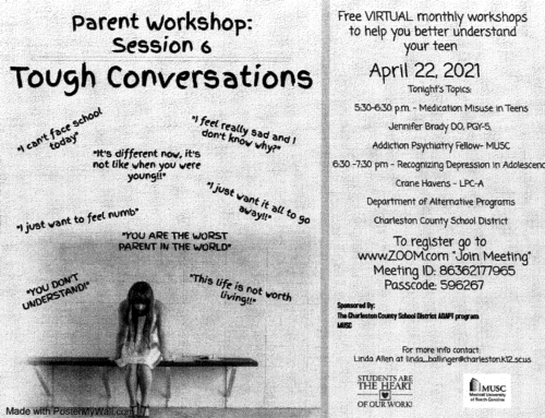 Parent Workshop – Tough Conversations – Session 6
