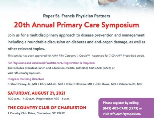 Roper St. Francis Physician Partners 20th Annual Primary Care Symposium